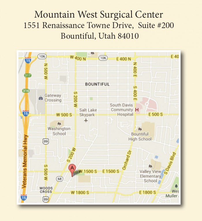 Mountain West Surgical Center | Bountiful UT